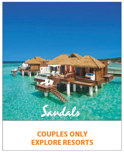 Sandals couples only - explore resorts
