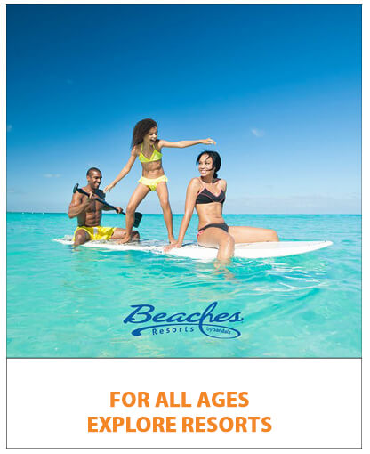 Beaches for all ages - explore resorts